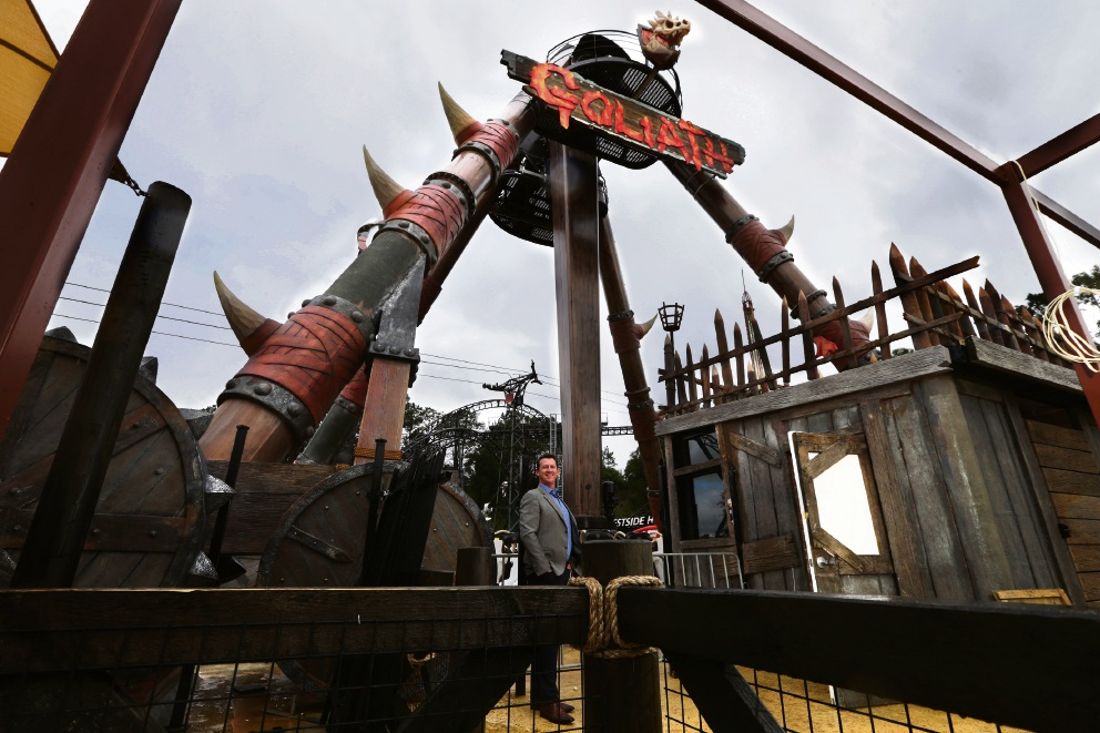 Adventure World chief executive Andrew Sharry.  Picture: Martin Kennealey    d473261