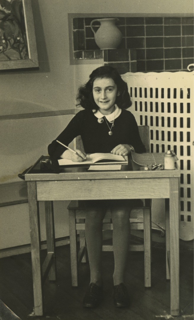 Let me be Myself: The Life Story of Anne Frank is at the Woolstores Shopping Centre from Sept 13 to Oct 31.