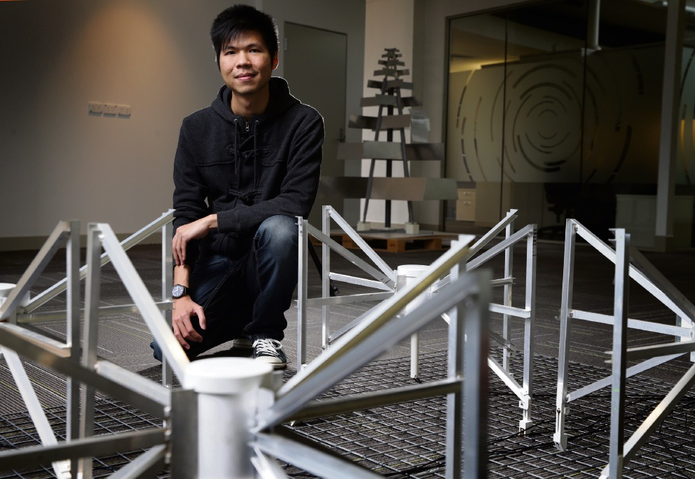 Curtin University masters student and staff member Daniel Ung of Forrestfield. Picture: Martin Kennealey d473378