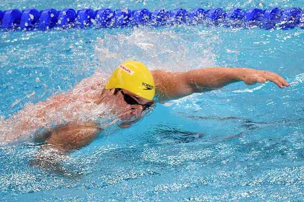 Perth swimmer Tommaso D'Orsogna will hold a swimming session at Victoria Park Swimming Club's registration day. Picture: Matthias Hangst/Getty Images