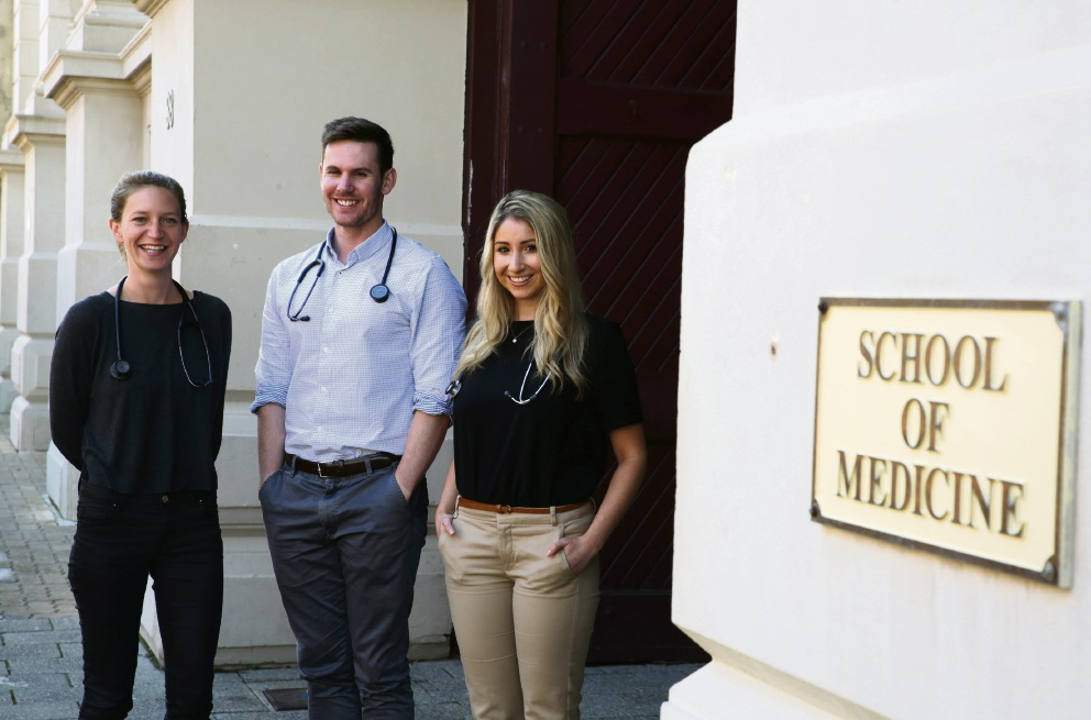 Notre Dame medical students are going to Vietnam.