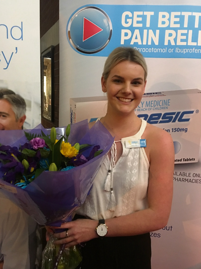Rockingham pharmacy assistant Karlie Read will represent WA.
