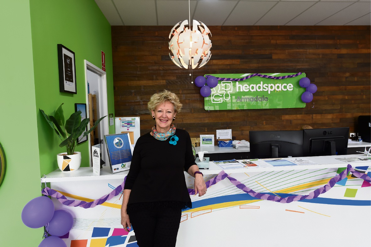 Headspace Armadale manager Annette Chivers. Picture: Jon Hewson                                            d473340