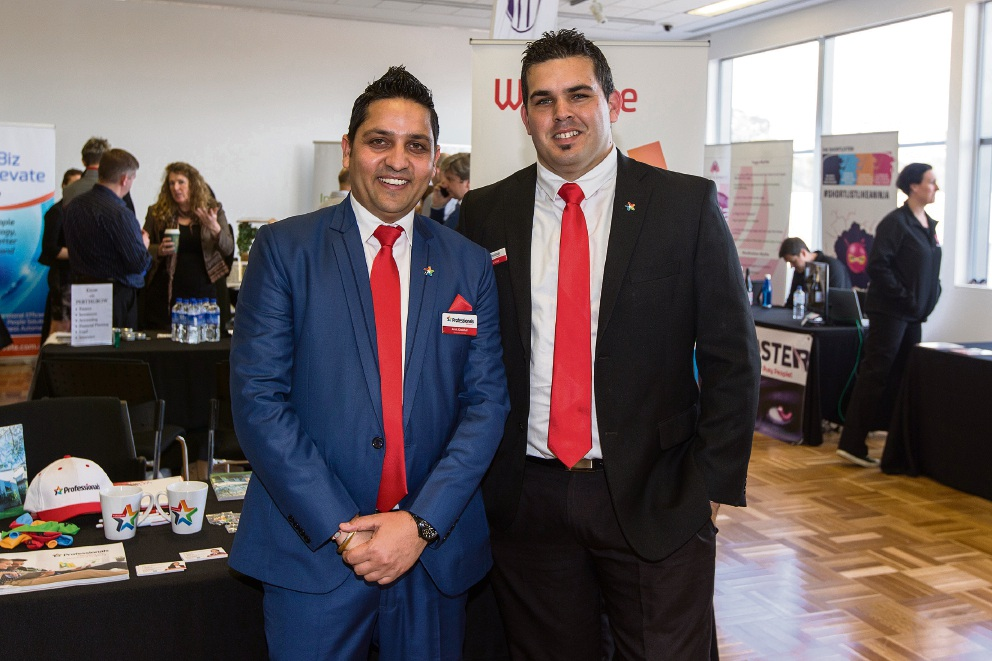Amit Khokhar and Dan Killick. Picture: Will Russell www.communitypix.com.au  d473361