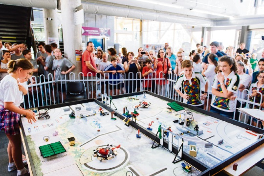 First Lego League.