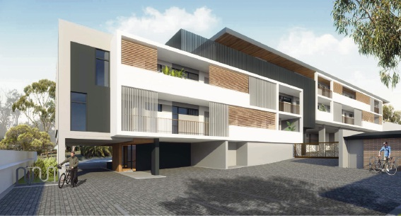 Artist impression of proposed Duncraig residential development.