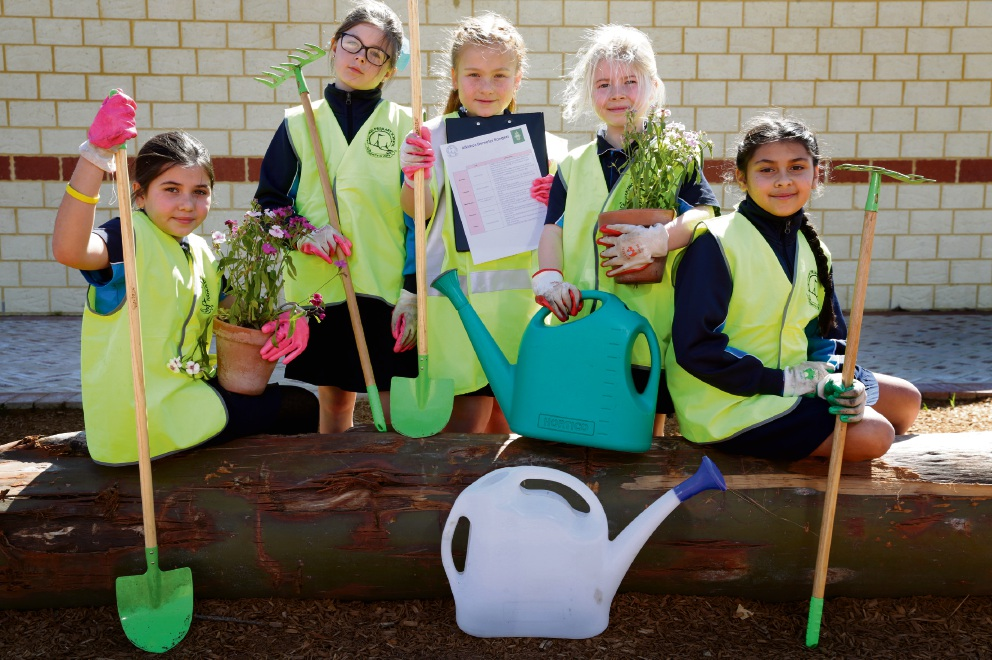 Year 3 students Shayana Torney, Sienna Doig, Lily-May Holly, Katie Cottam and Ayisha Crane. Picture: Martine Kennealey d473121