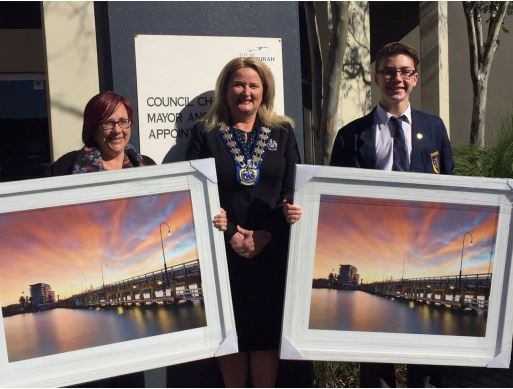 Winners of framed old Mandurah bridge prints announced