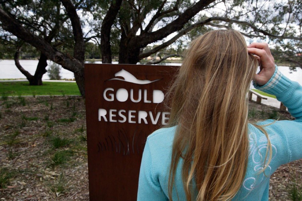 This isn't Gould Reserve.