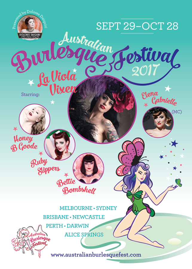 The Australian Burlesque Festival – Tropical Tease