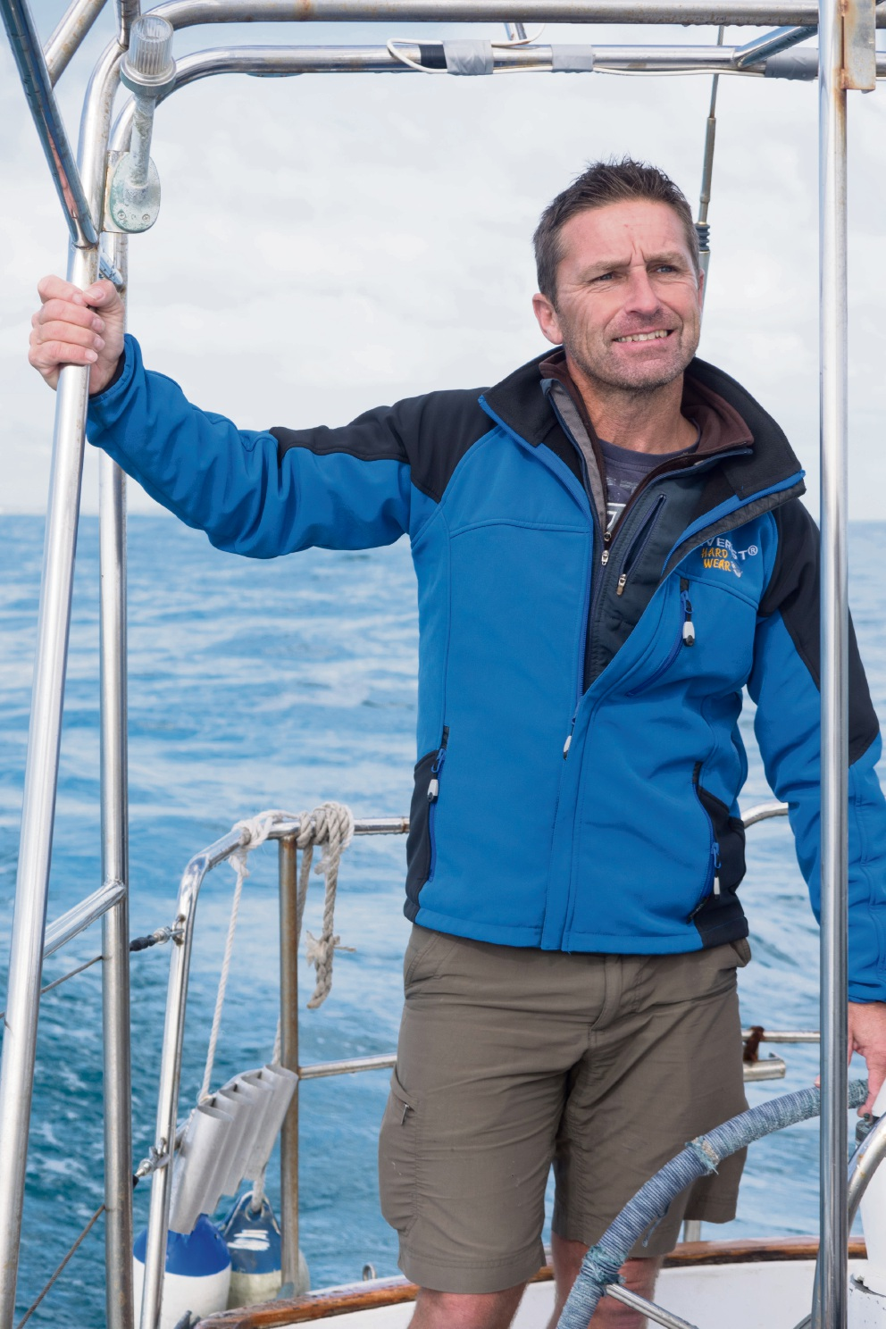 Kevin Farebrother will attempt to sail around the globe solo, non-stop and unassisted next year.