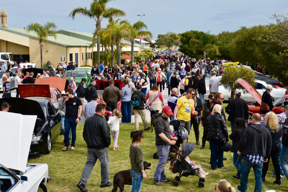 More than 5000 people attended the Warnbro Car Show.