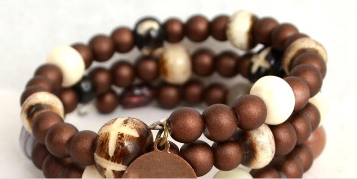 Free Craft Workshop: Wooden Beaded Bracelets
