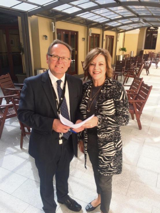 Mandurah MLA David Templeman and Murray-Wellington counterpart Robyn Clark want a health review forum held in Mandurah.