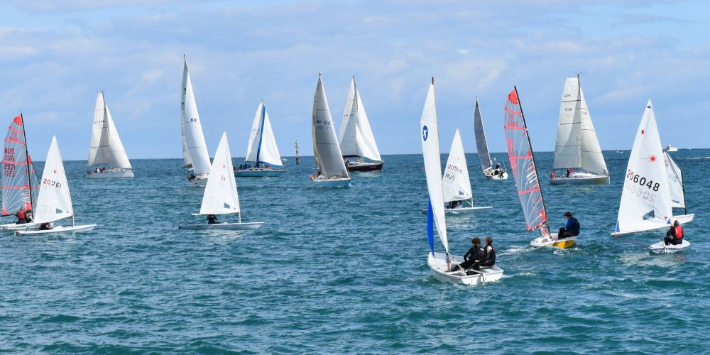 Hillarys Yacht Club members will be among thousands around the world attempting to set a Guinness World Record on Sunday. Picture: Hillarys Yacht Club