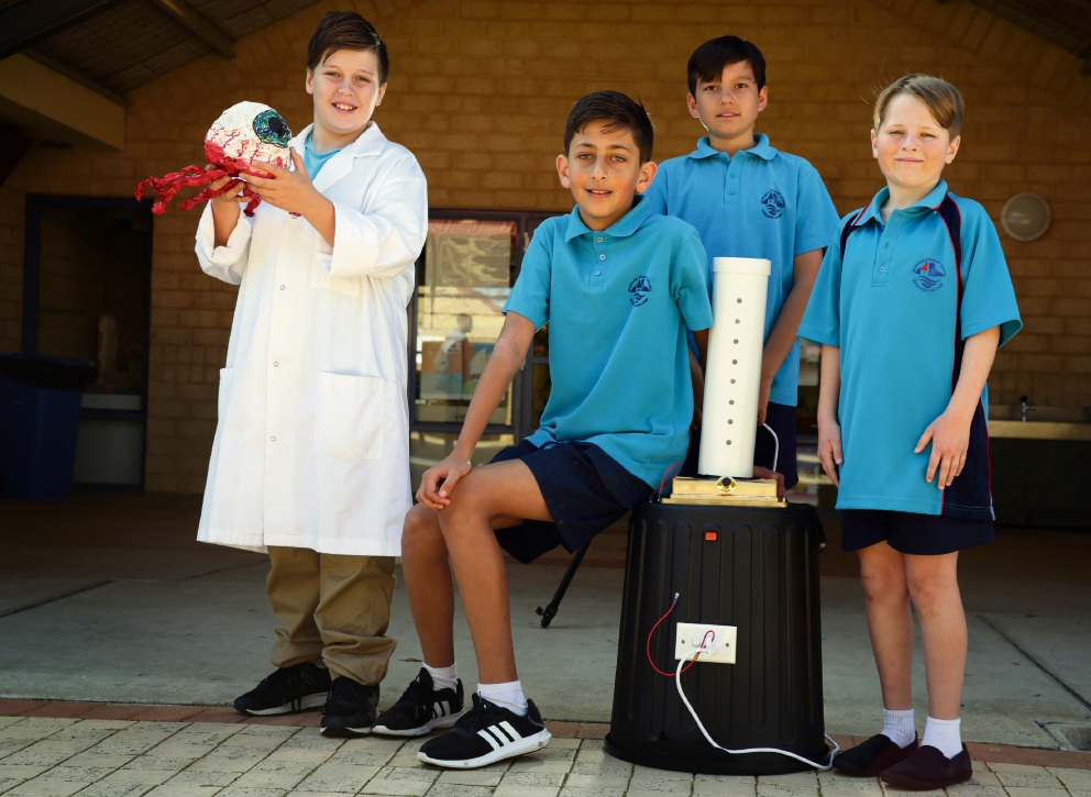 Mindarie PS students think environmentally during National Science Week