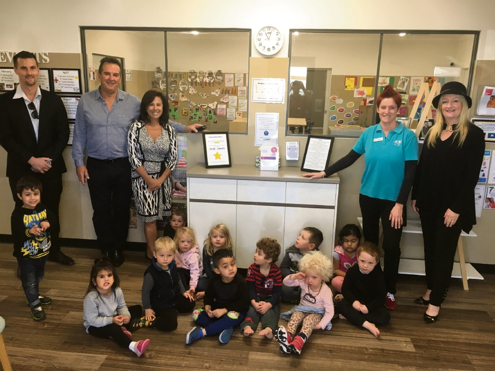 Wanneroo Mayor Tracey Roberts attended the Alkimos School of Early Learning opening.