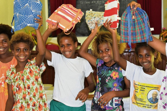Days for Girls in Papua New Guinea.