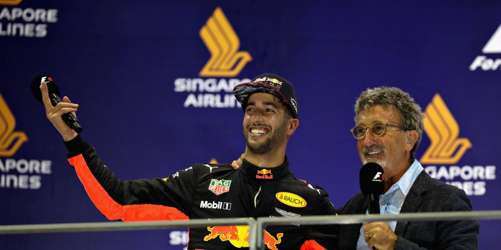 Singapore F1 GP: second for Ricciardo in event-filled race