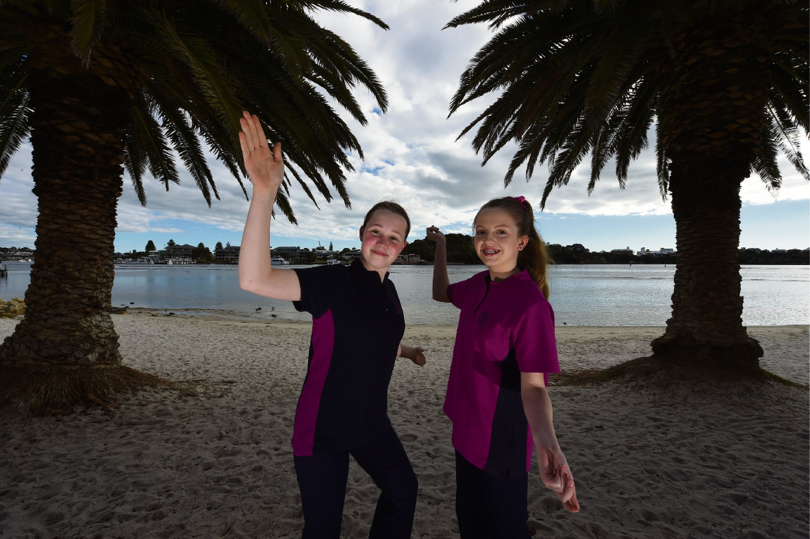 Angharad McEvoy and Sophie Douglas are looking forward to their tour. Picture: Jon Hewson d473379