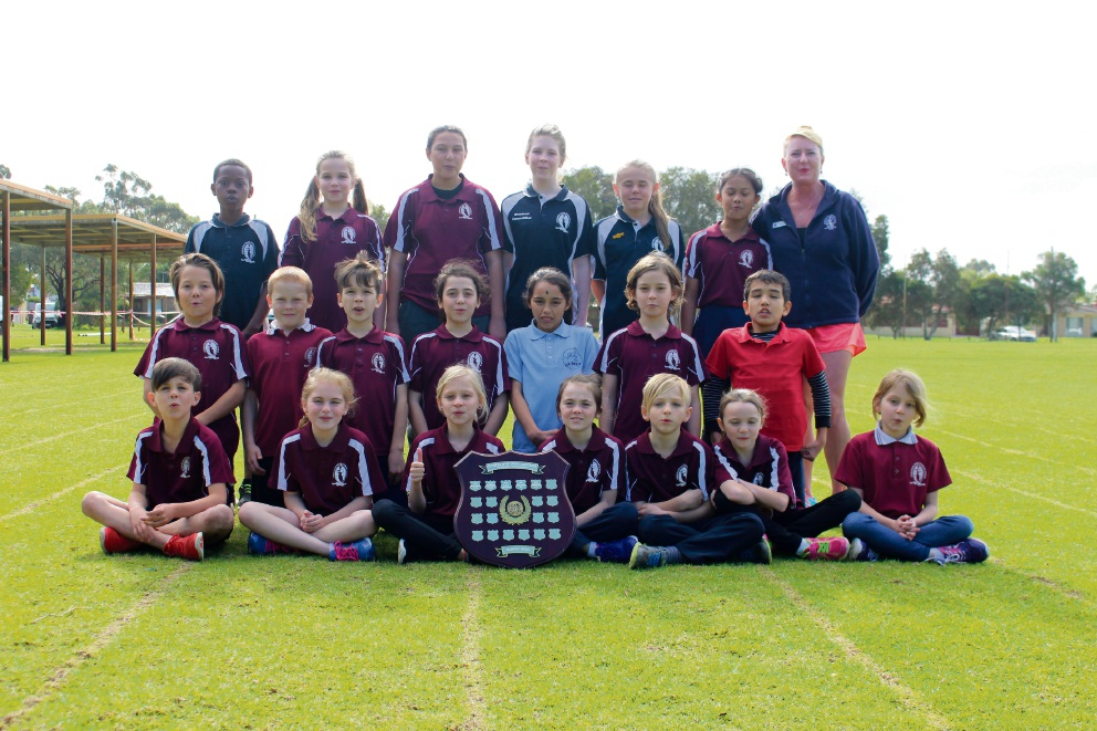 Ashburton Primary school finished third - the highest ever - in the Souther River Sports Association Cross-country event.