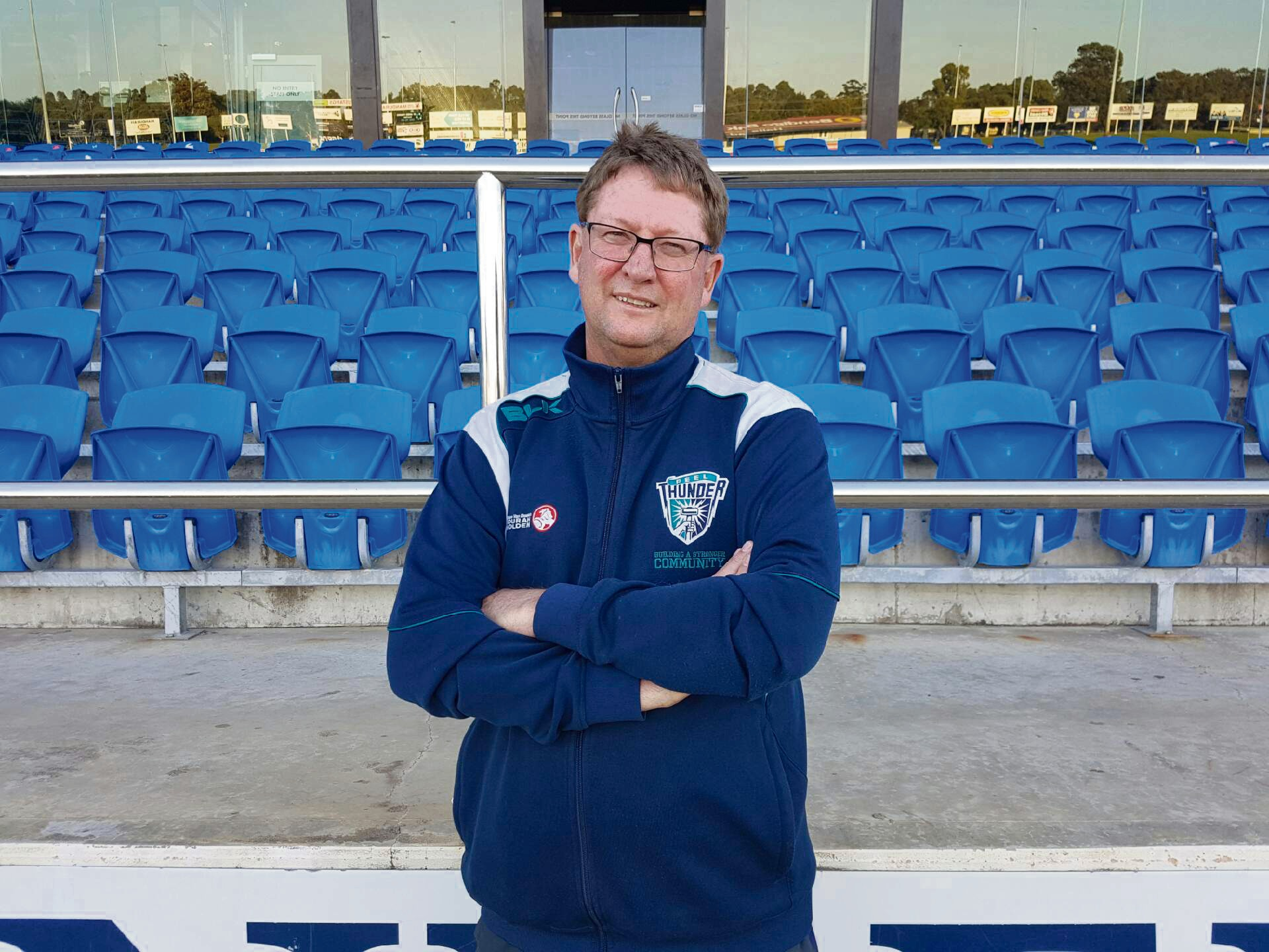 Peel Thunder coach Cam Shepherd reappointed for two years