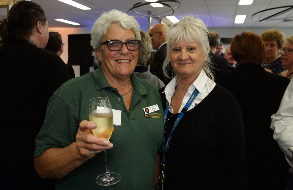 Penny Creed and Inga Price (Yanchep National Park volunteers). Picture: Martin Kennealey www.communitypix.com.au   d473019