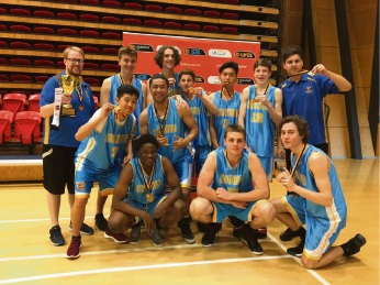 The championship winning Cockburn Cougars U18-2 team. Picture: Cockburn Cougars Facebook