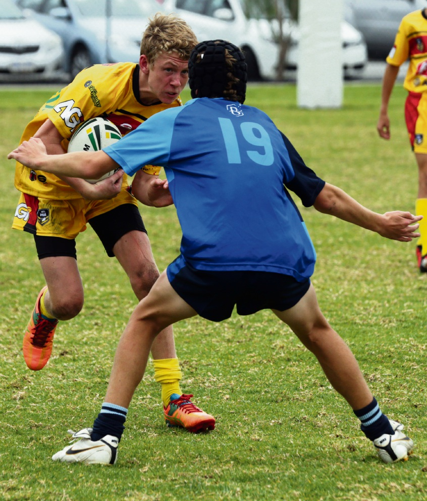 NRL WA: Butler College in battle against North West Reds