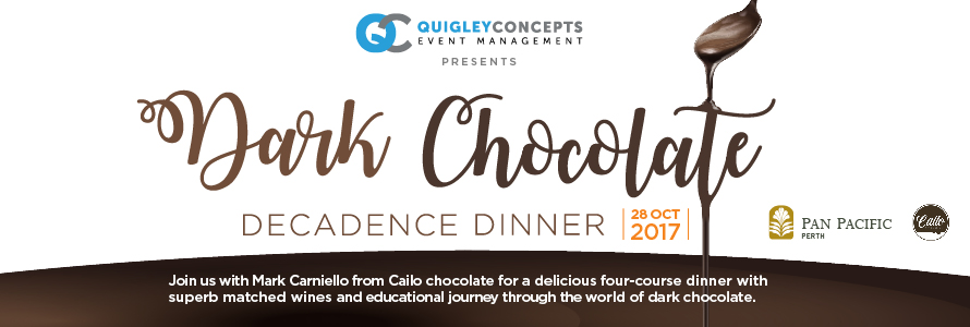 Dark Chocolate Decadence Dinner