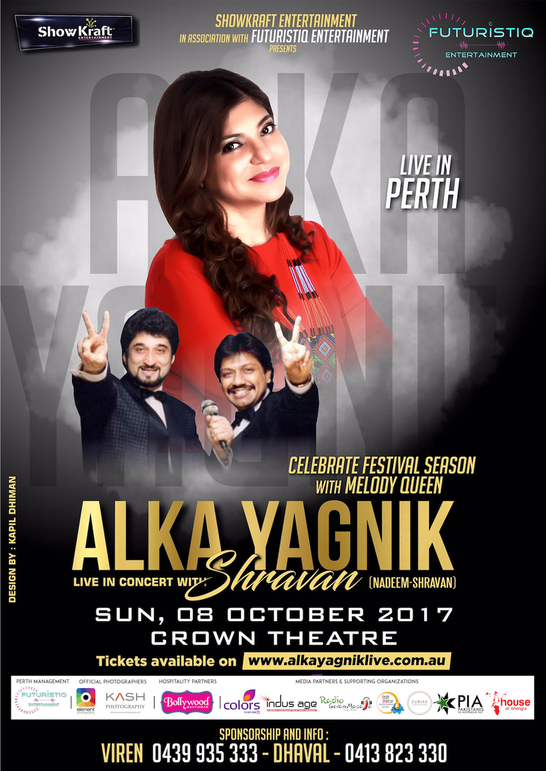 Alka Yagnik and Shravan LIve In Concert – Bollywood