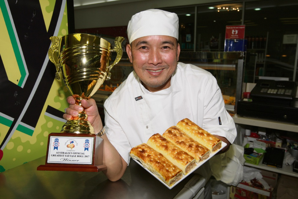 Highlands Bakery and Patisserie's Lac Van Hong. Picture: Bruce Hunt d474106