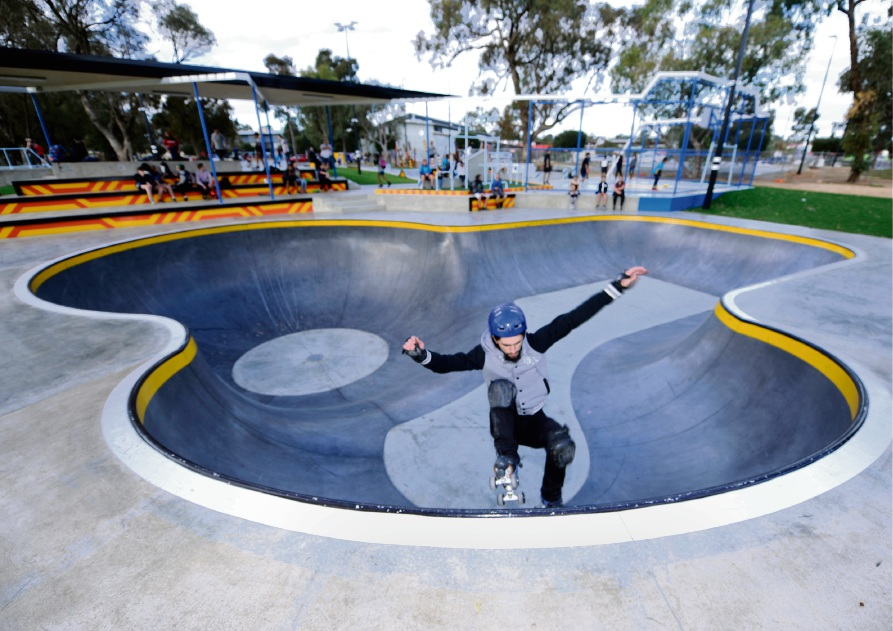 Kwinana's new Edge Skatepark set to open