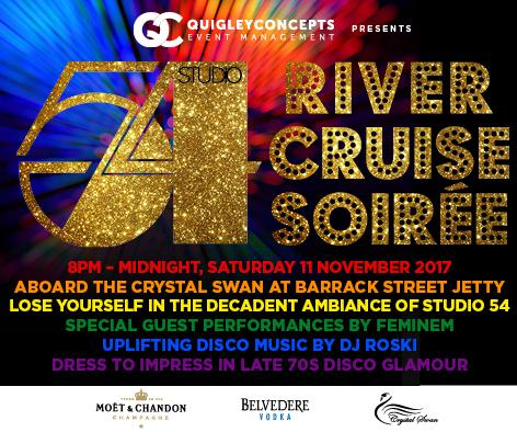 Studio 54 River Cruise Soirée