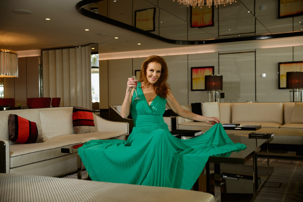 Rhonda Burchmore at Crown Perth. Picture: Andrew Ritchie