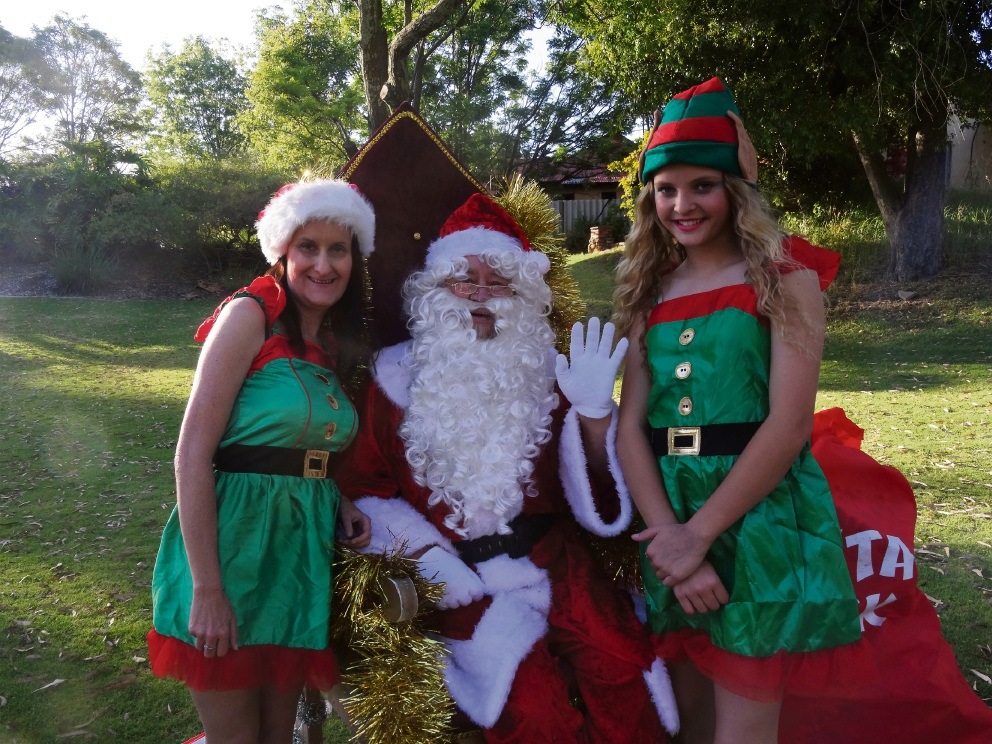 Santa's helpers were busy at last year's event.