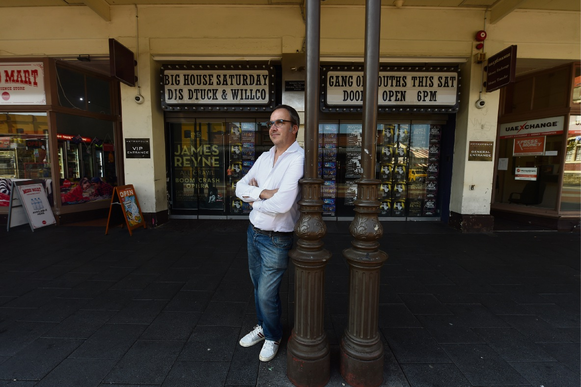 Metropolis Fremantle owner David Heaton. Picture: Jon Hewson www.communitypix.com.au d474069