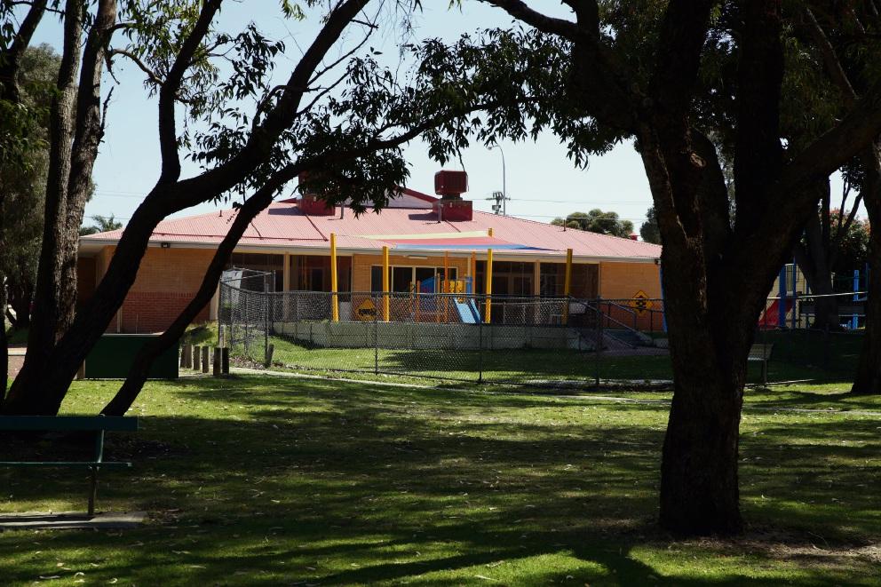 Marangaroo Family Centre at John Moloney Park. Picture: Martin Kennealey
