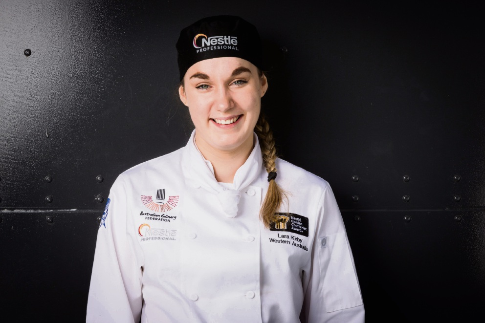 Sandalford Wines chef Lara Kirby won three silver medals at the Golden Chef's Hat Awards finals. Picture: Supplied