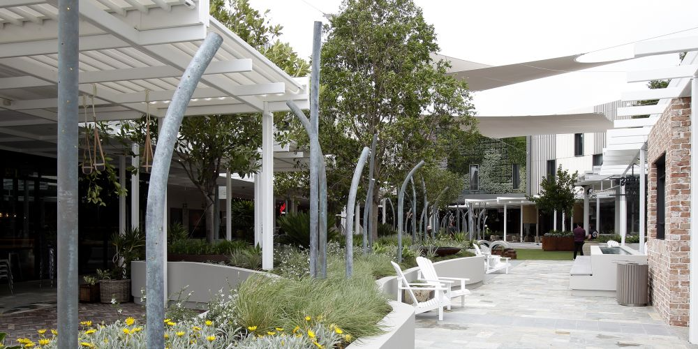 The new face of Westfield Whitford City's new dining and entertainment hub. Picture: Marie Nirme d474221