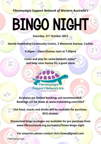 FSNWA Bingo Night