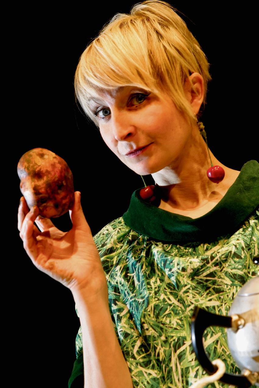 Shona Reppe with Potato.