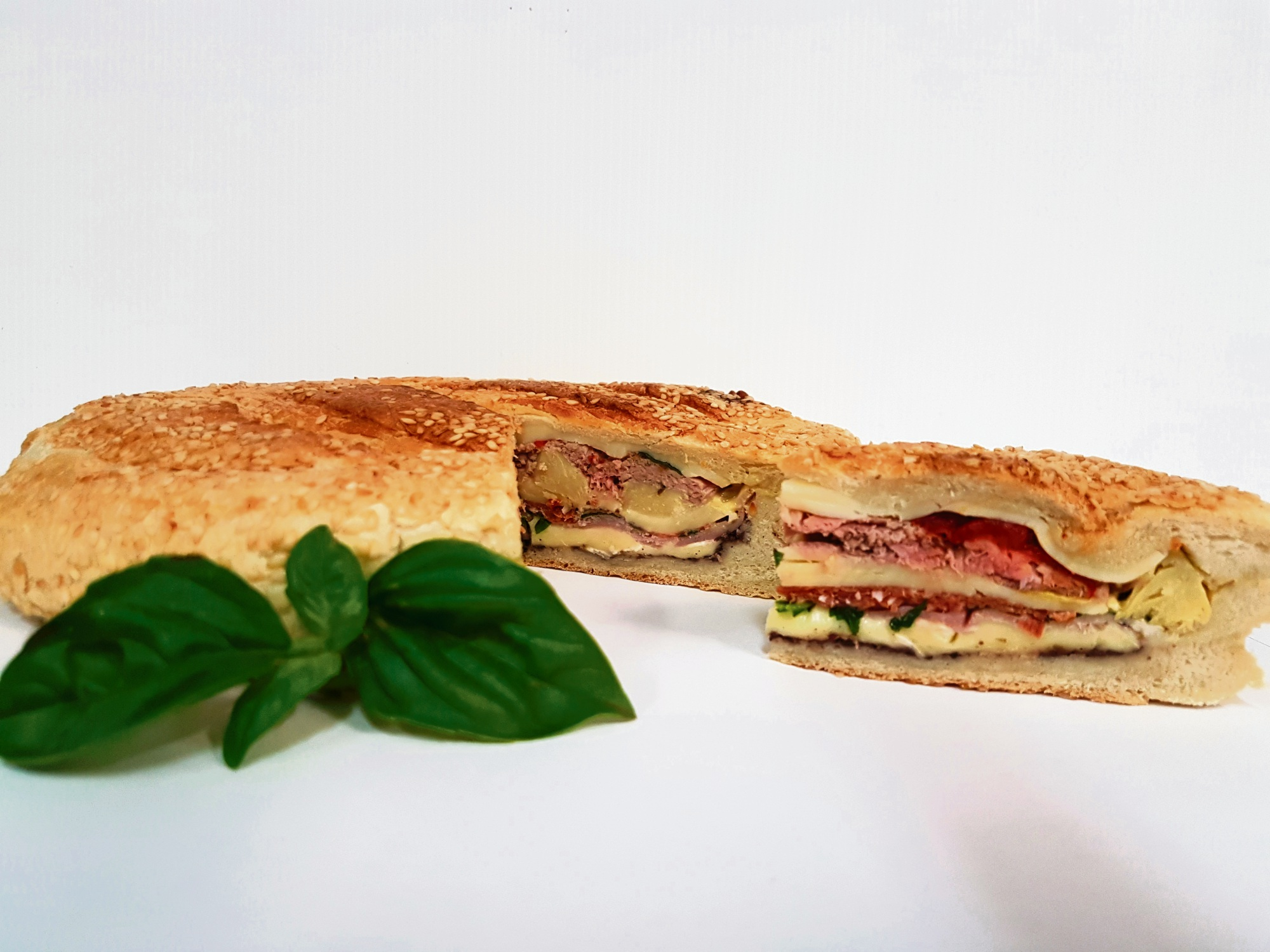 Recipe: antipasto pressed sandwich