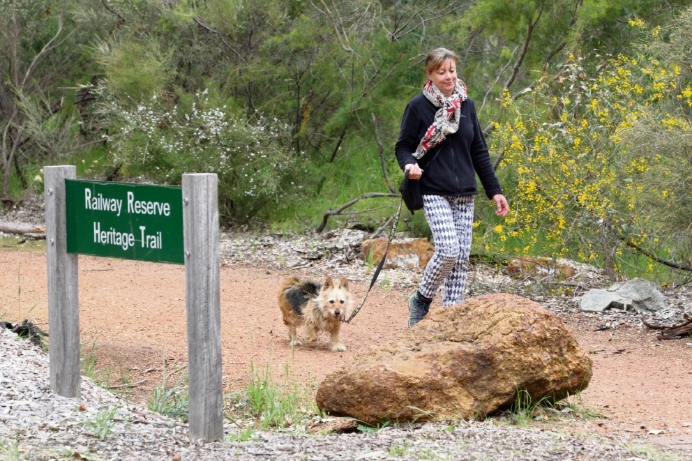 Parkerville: debate rages about dogs being allowed off leash on Railway Reserve Heritage Trail