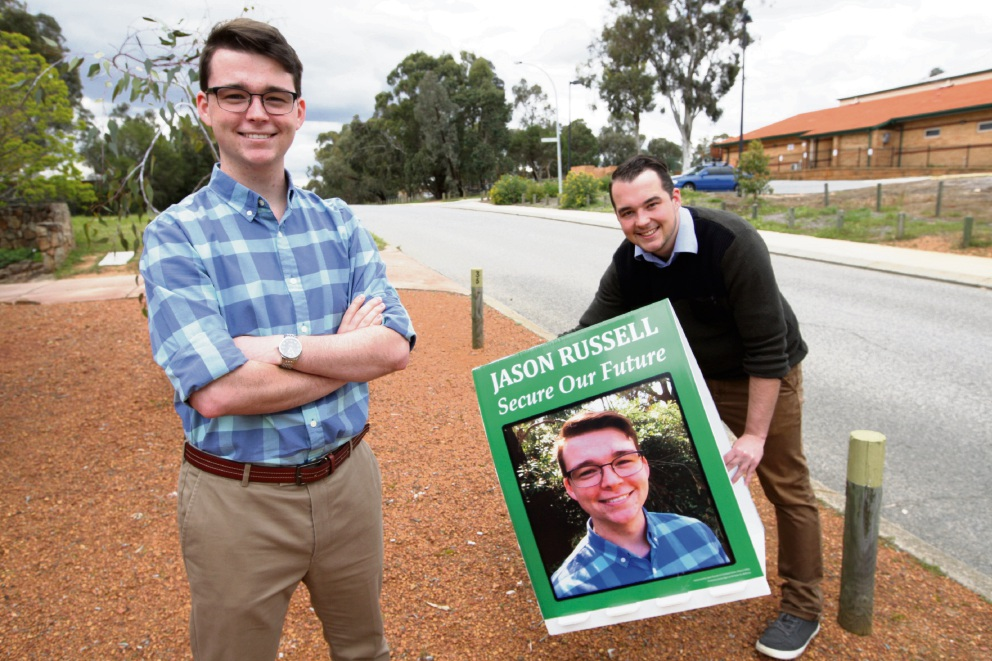 Greenmount 'young gun' driven by passion in pursuit of council seat