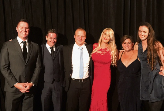 Nedlands' winning rangers (l-r) Adam Greentree, Andrew Melville, Daniel Sharples, Michaela Eaton-Vickery, Emma Scorer and Jessica Bruce.