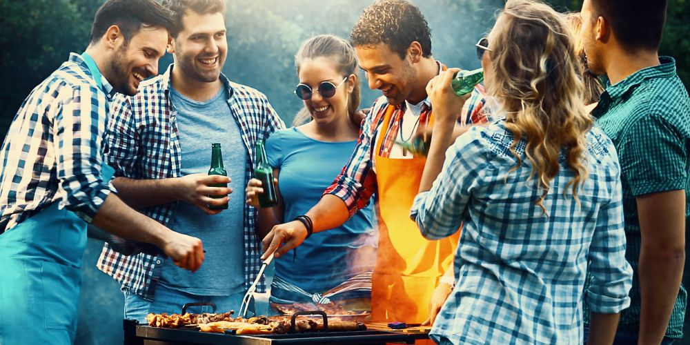 There could be some barbecuing happening this weekend. Picture: stock image