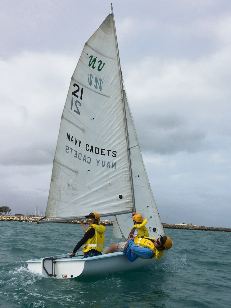 TS Marmion cadets are hosting their annual sailing regatta these school holidays.