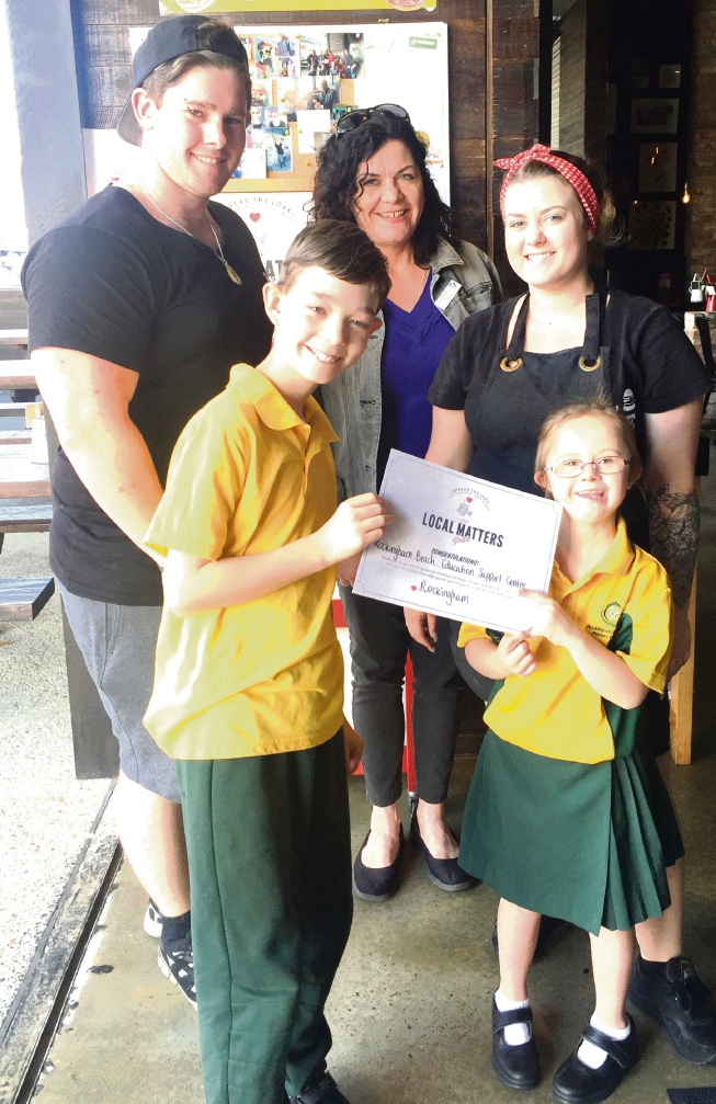 Rockingham Beach Education Support Centre gets a boost from burger chain