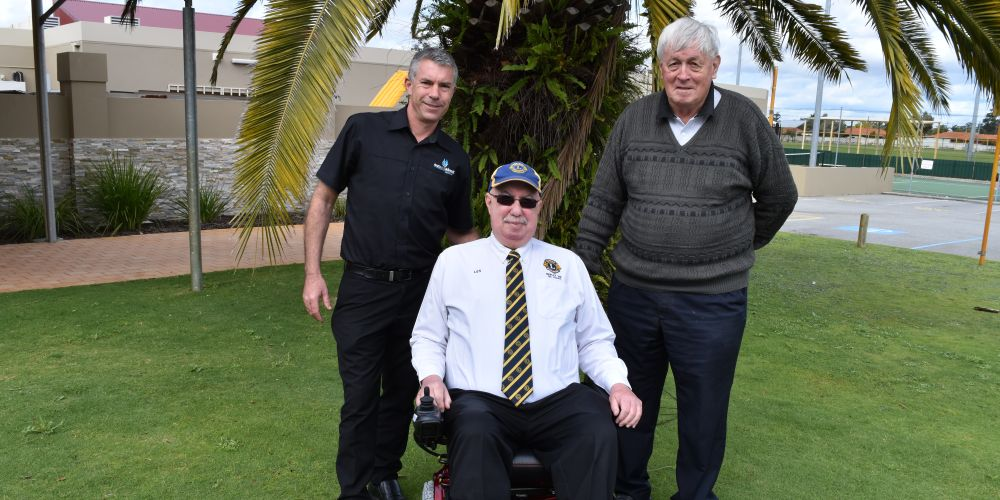 Morley Lions receives wheelchair to provide better access for people with disabilities